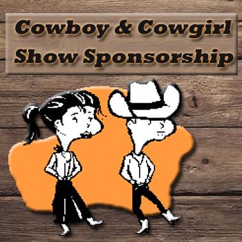 Cowgirl-Cowboy Sponsors ad