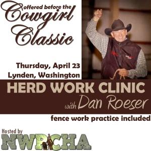 Dan Roeser herd work clinic