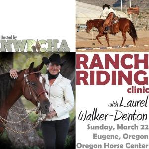 ranch riding clinic with Laurel Walker-Denton